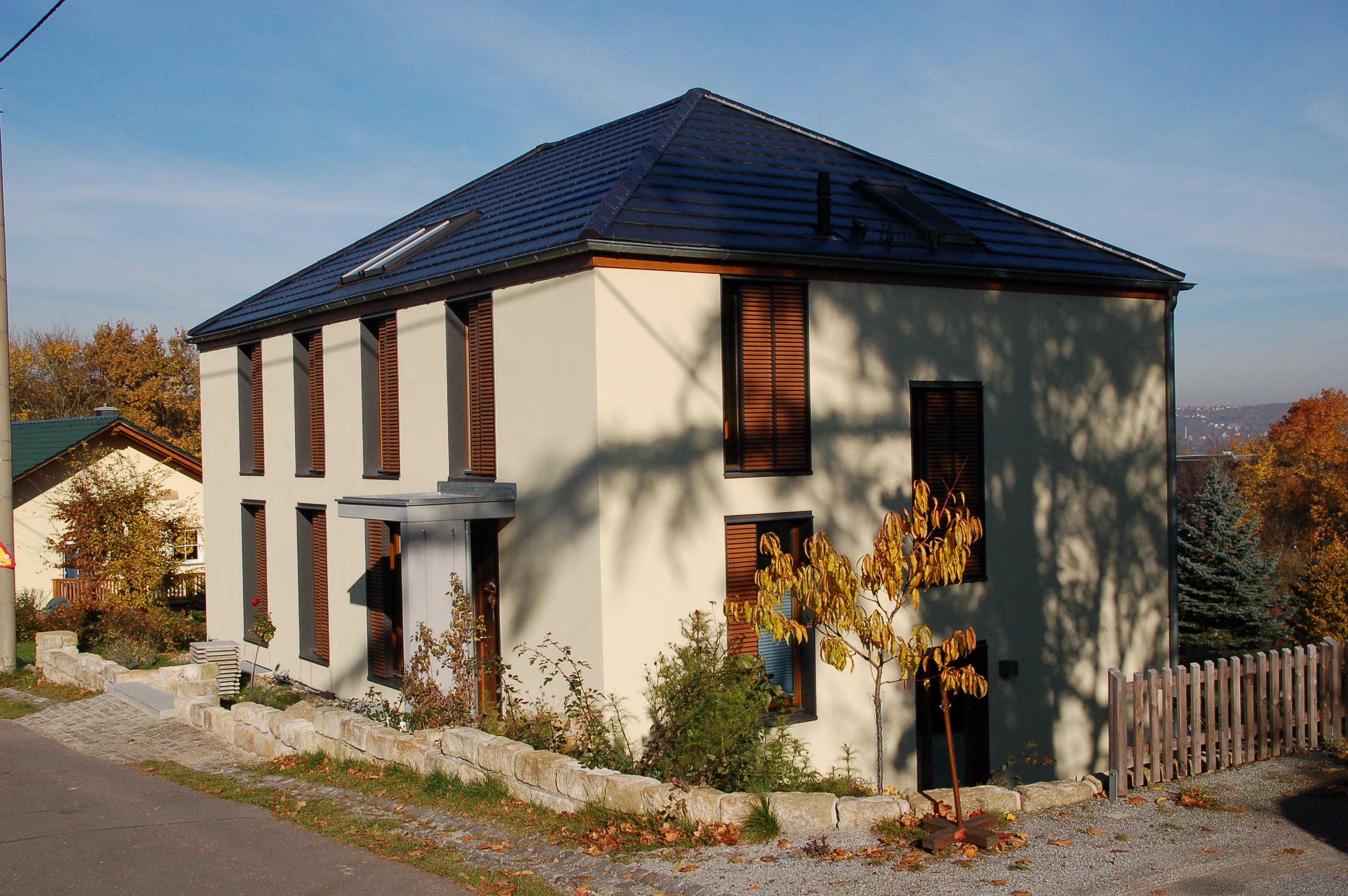 Außenansicht, Haus J, Dresden