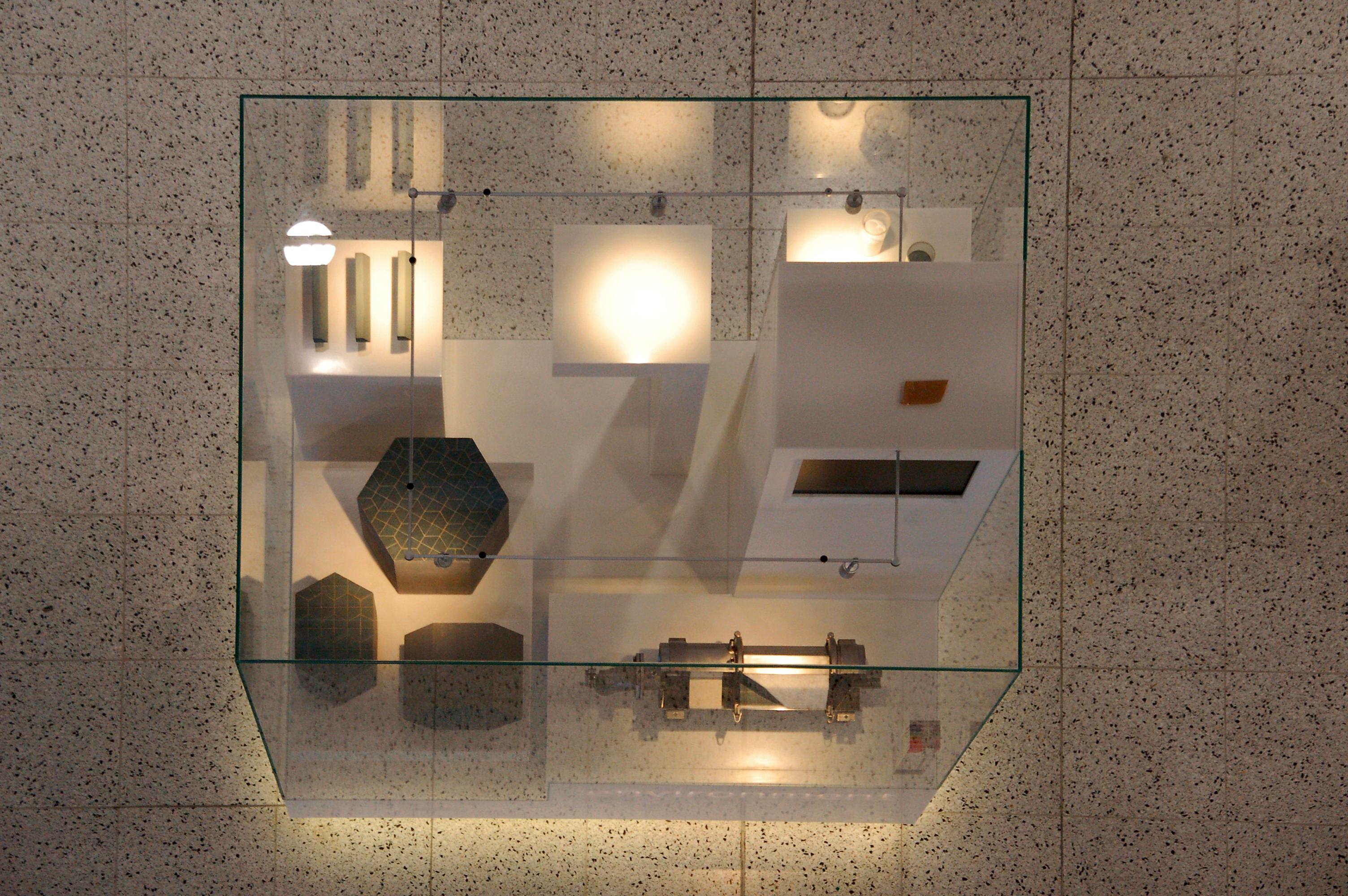 Ausstellungskasten, Fraunhofer IKTS in Dresden