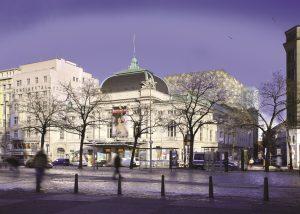 Deutsches Schauspielhaus Hamburg mit Neubau