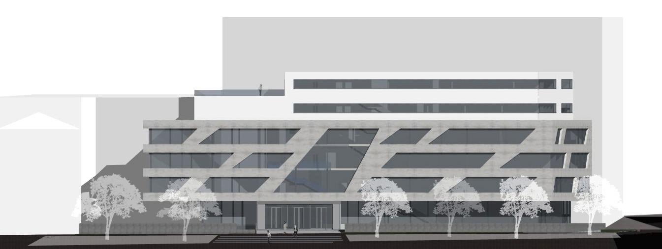 Seitenansicht, Hochschule für Technik – Stuttgart
