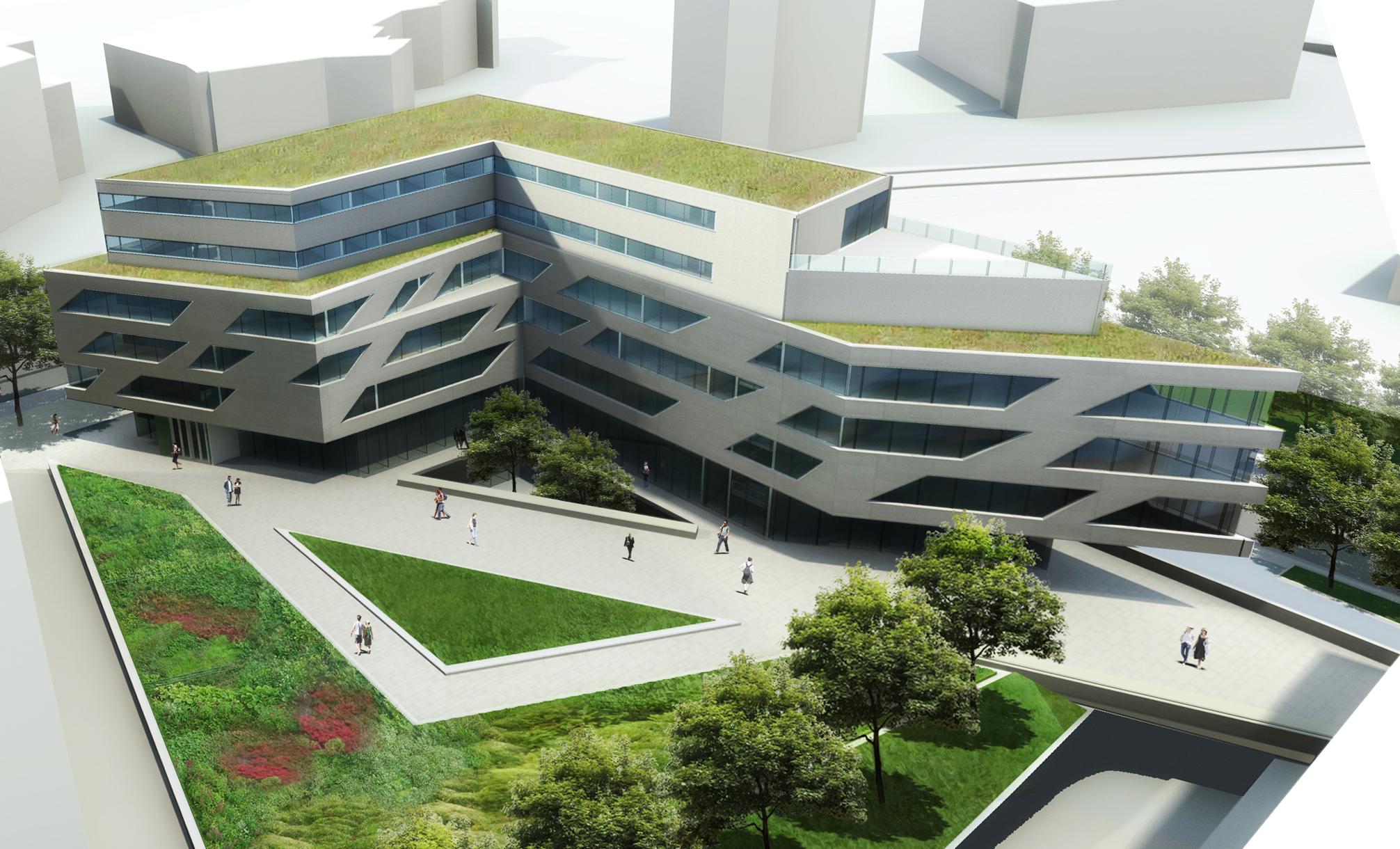 Innenhofansicht, Hochschule für Technik – Stuttgart