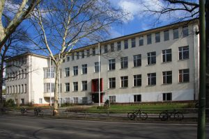 Haupteingang, Willi Graf Oberschule – Berlin