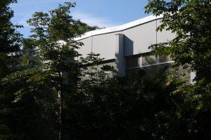 Dach, Sporthalle, Willi Graf Oberschule – Berlin