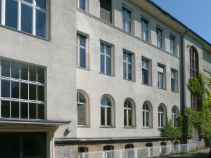 Fassade, Willi Graf Oberschule – Berlin