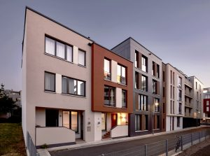 Fassadenansicht, Am Schiesshaus – Dresden