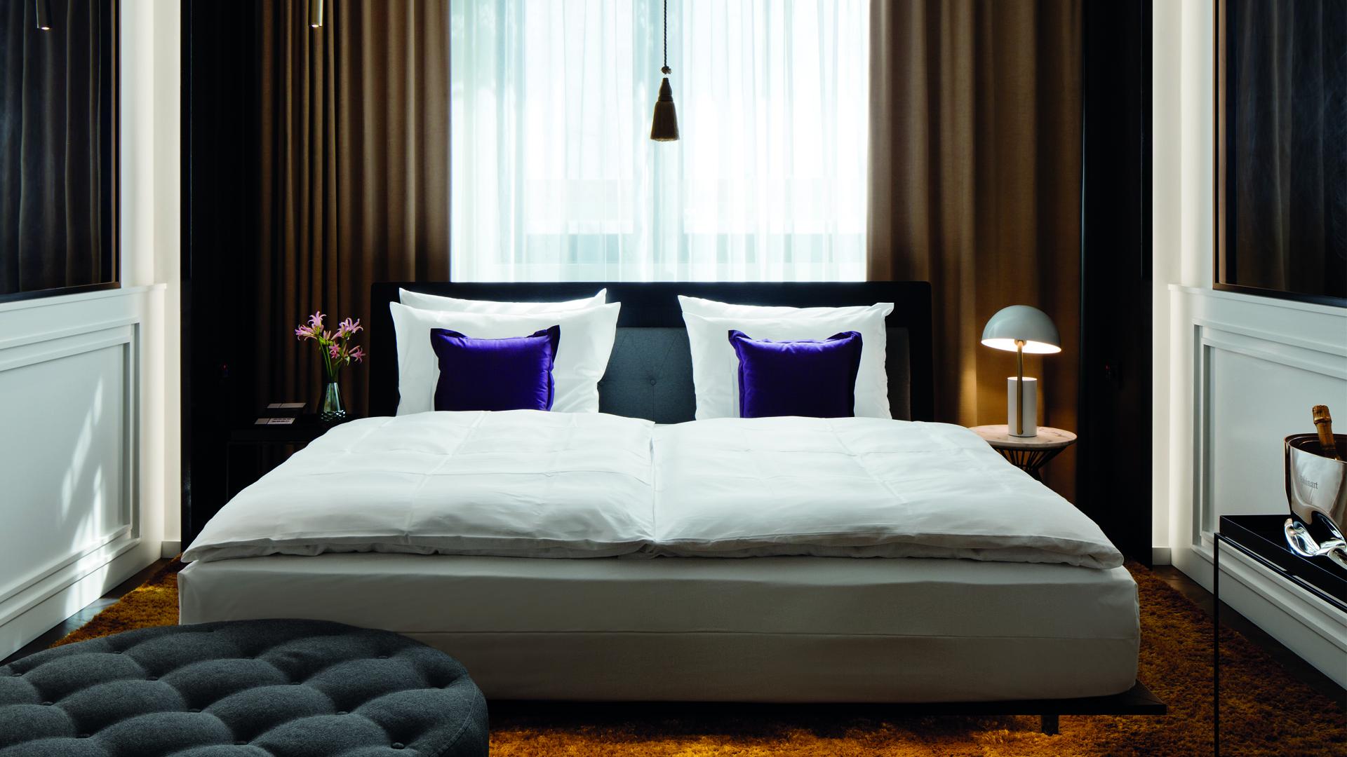 Visualisierung, Zimmer, Roomers Hotel München
