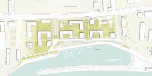 Lageplan, Hafen City Dresden