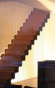 Treppendetail, Haus Reda