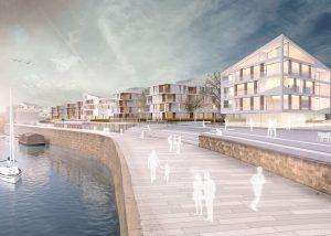 Visualisierung, Hafen City Dresden
