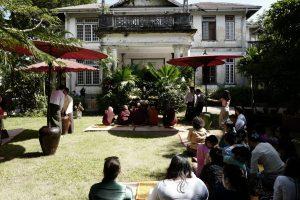 Spatenstich, Goethe Institut Yangon