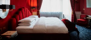 Rotes Zimmer, Hotel Provocateur, Berlin