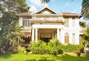 Alte Villa vor der Renovierung, Goethe Institut Yangon – Myanmar