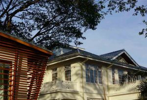 Neubau und alte Villa, Goethe Institut Yangon – Myanmar