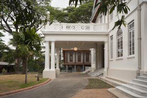 Alte Villa, Auffahrt, Goethe Institut Yangon – Myanmar