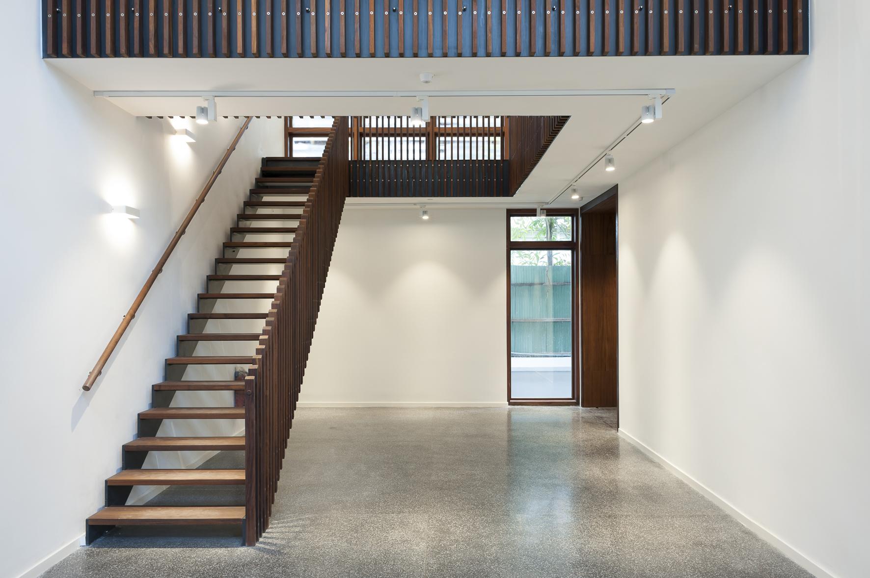 Treppenaufgang, Neubau, Goethe Institut Yangon – Myanmar