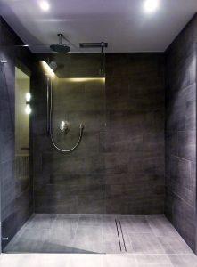 Dusche im SPA, Upstalsboom Hotel Ostseestrand