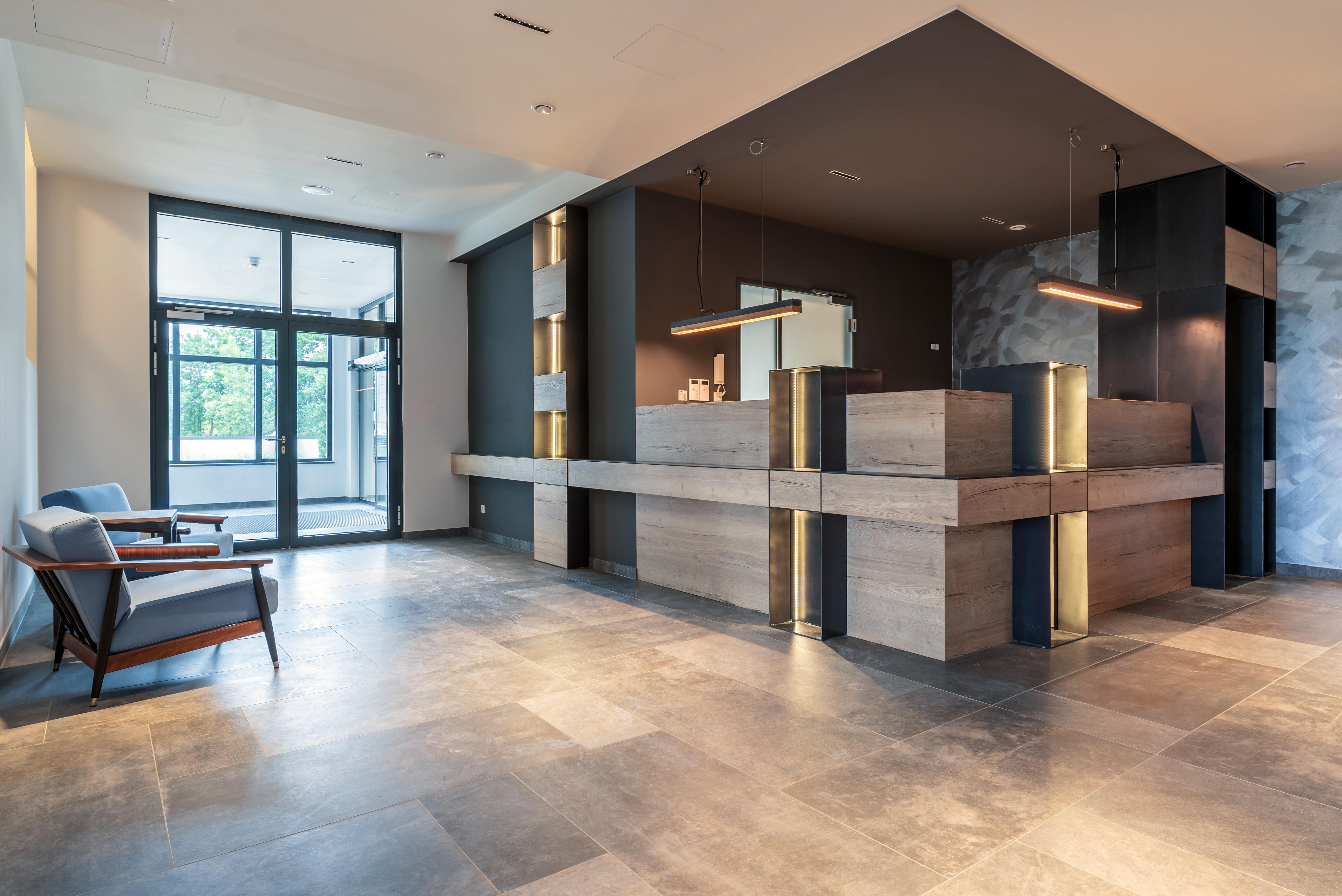 Rezeption, Upstalsboom Waterkant Suites