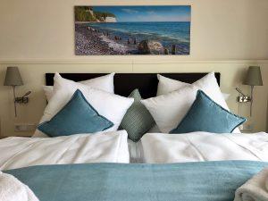 Schlafzimmer, Upstalsboom Waterkant Suites