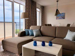 Gästewohnung mit Meerblick, Upstalsboom Waterkant Suites
