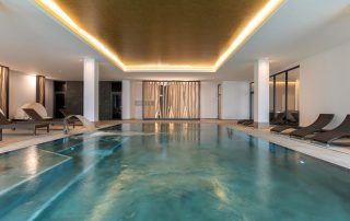 Pool im SPA-Bereich, Upstalsboom Waterkant Suites
