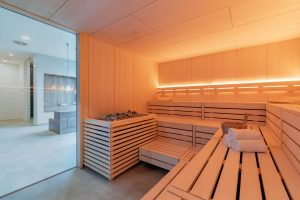 Sauna, Upstalsboom Waterkant Suites