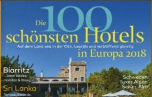 Die 100 schönsten Hotels 2018
