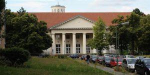 Ansicht von der Straße, Beethoven Gymnasium, Berlin