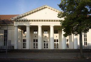 Eingangsportal, Beethoven Gymnasium, Berlin
