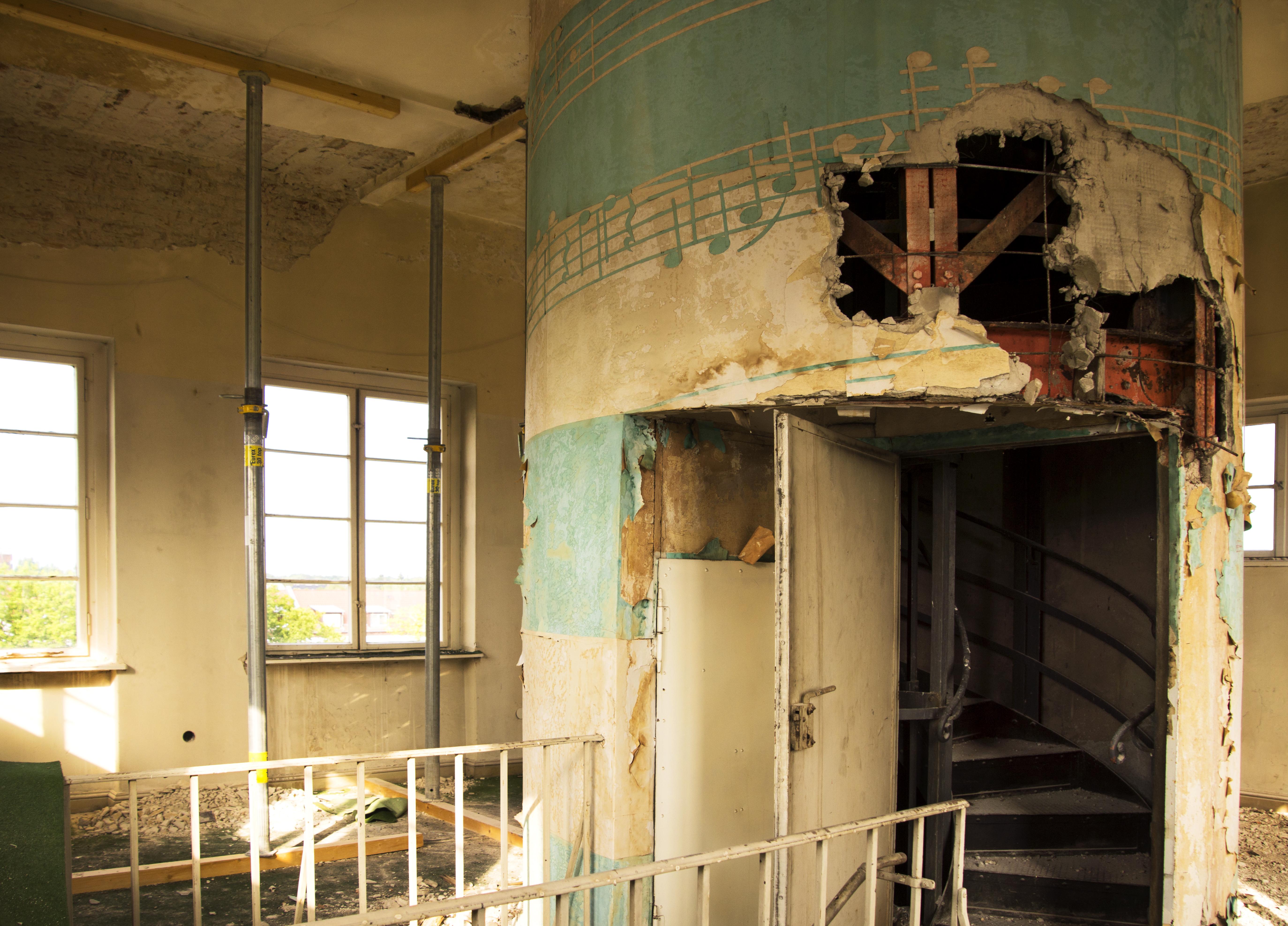 Alter Treppenaufgang, Beethoven Gymnasium, Berlin