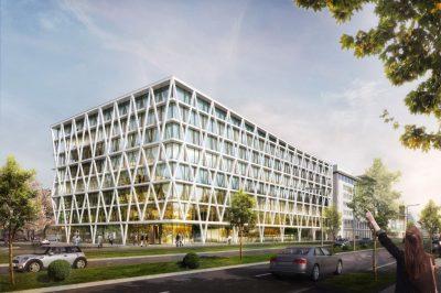 Rendering, Gemeinsame Hauptverwaltung DREWAG/ ENSO, Dresden