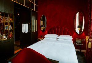 Zimmer mit Minibar, Hotel Provocateur, Berlin