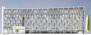 Entwurf, Fassade, Gemeinsame Hauptverwaltung DREWAG/ ENSO