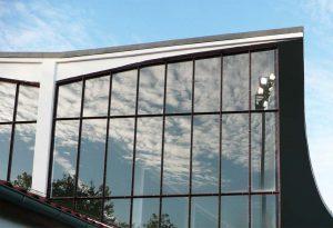 Glasfassade, Stadion Lichterfelde – Berlin