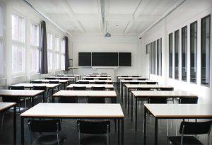Klassenraum der Beuth Hochschule für Technik, Berlin