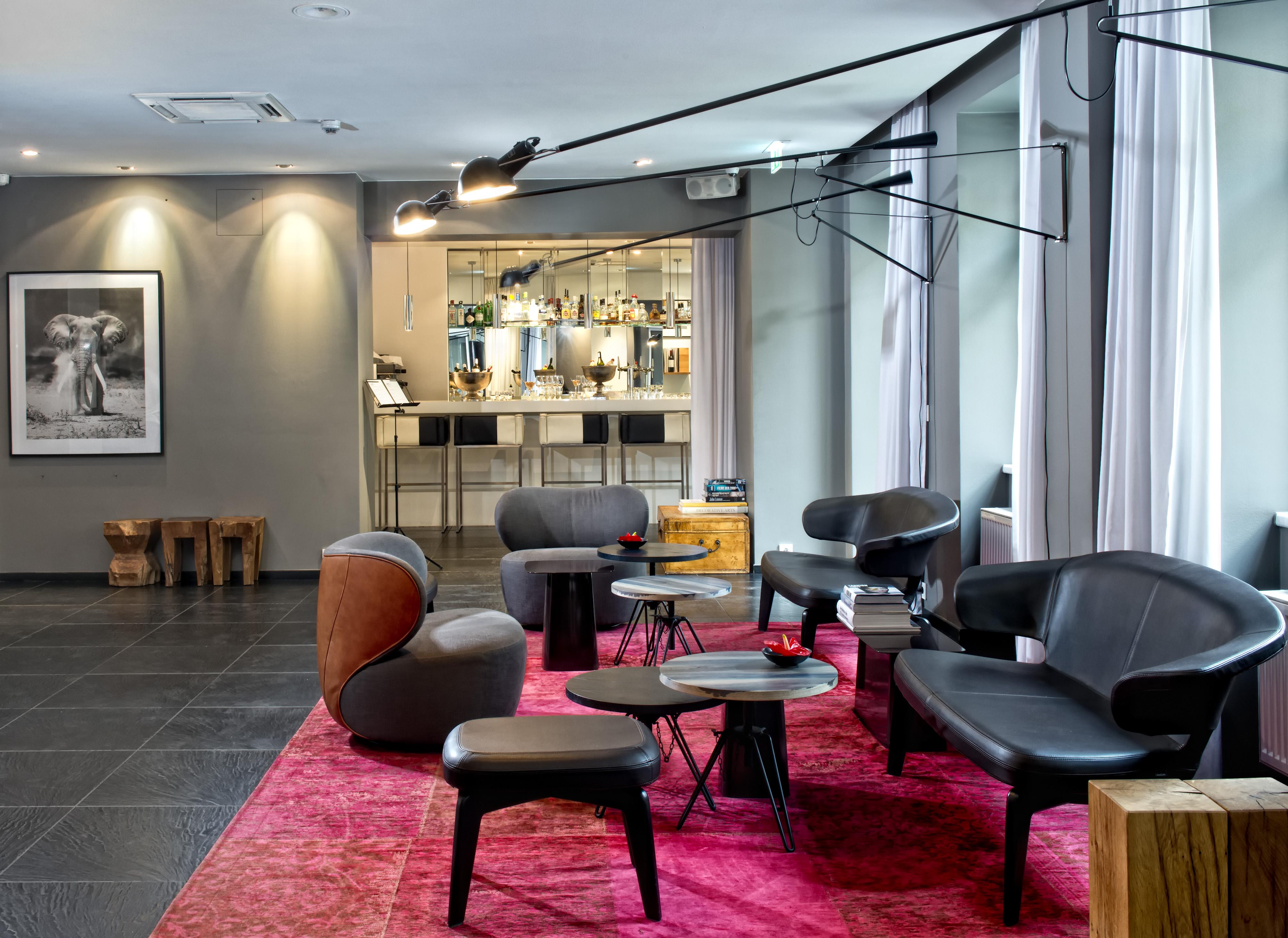 Lobby und Bar, Hotel Sir Savigny, Berlin