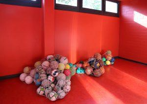 Roter Raum der Bröndby-Oberschule in Berlin