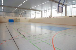 Sporthalle der Bröndby-Oberschule in Berlin
