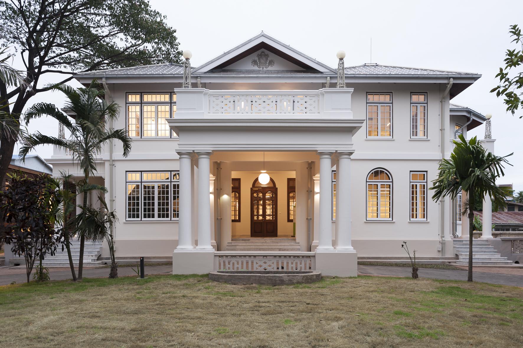 Alte Villa, Goethe Institut Yangon – Myanmar