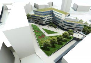 Innenhof, Hochschule für Technik – Stuttgart