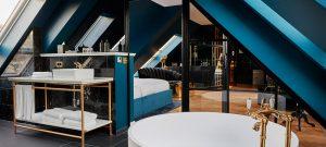Blaues Zimmer,Hotel Provocateur, Berlin