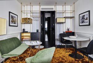 Zimmer mit Sitzecke, Roomers Hotel München