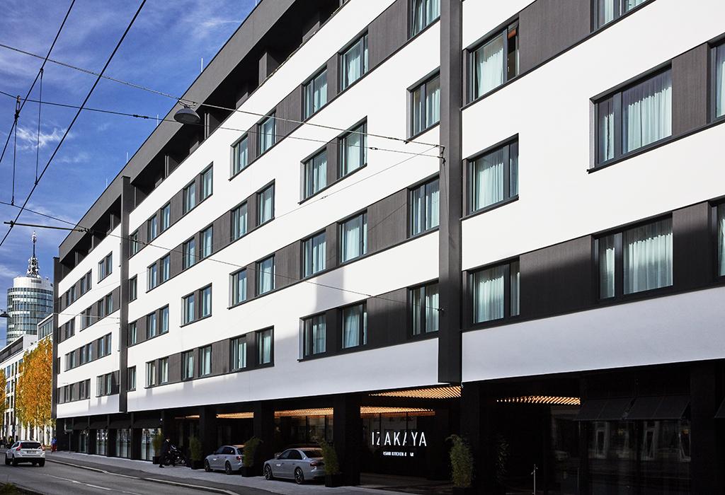 Außenansicht, Roomers Hotel München