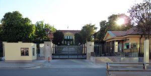 Außenansicht der Deutschen Botschaft in Ankara