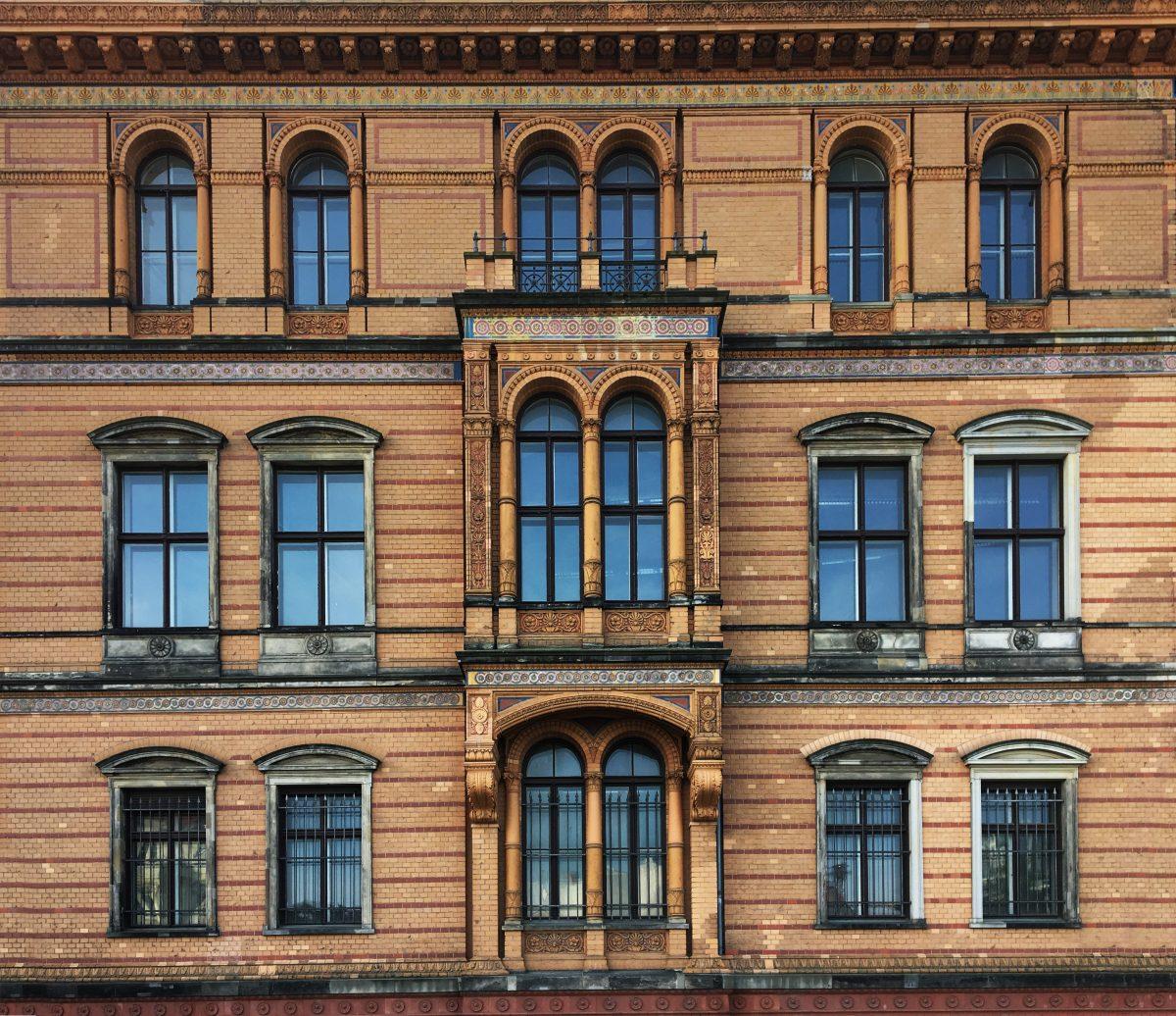 Fassadendetails, Robert-Koch-Forum, Berlin
