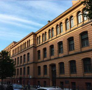 Fassade, Robert-Koch-Forum, Berlin