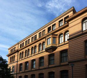Fassade mit Erker, Robert-Koch-Forum, Berlin