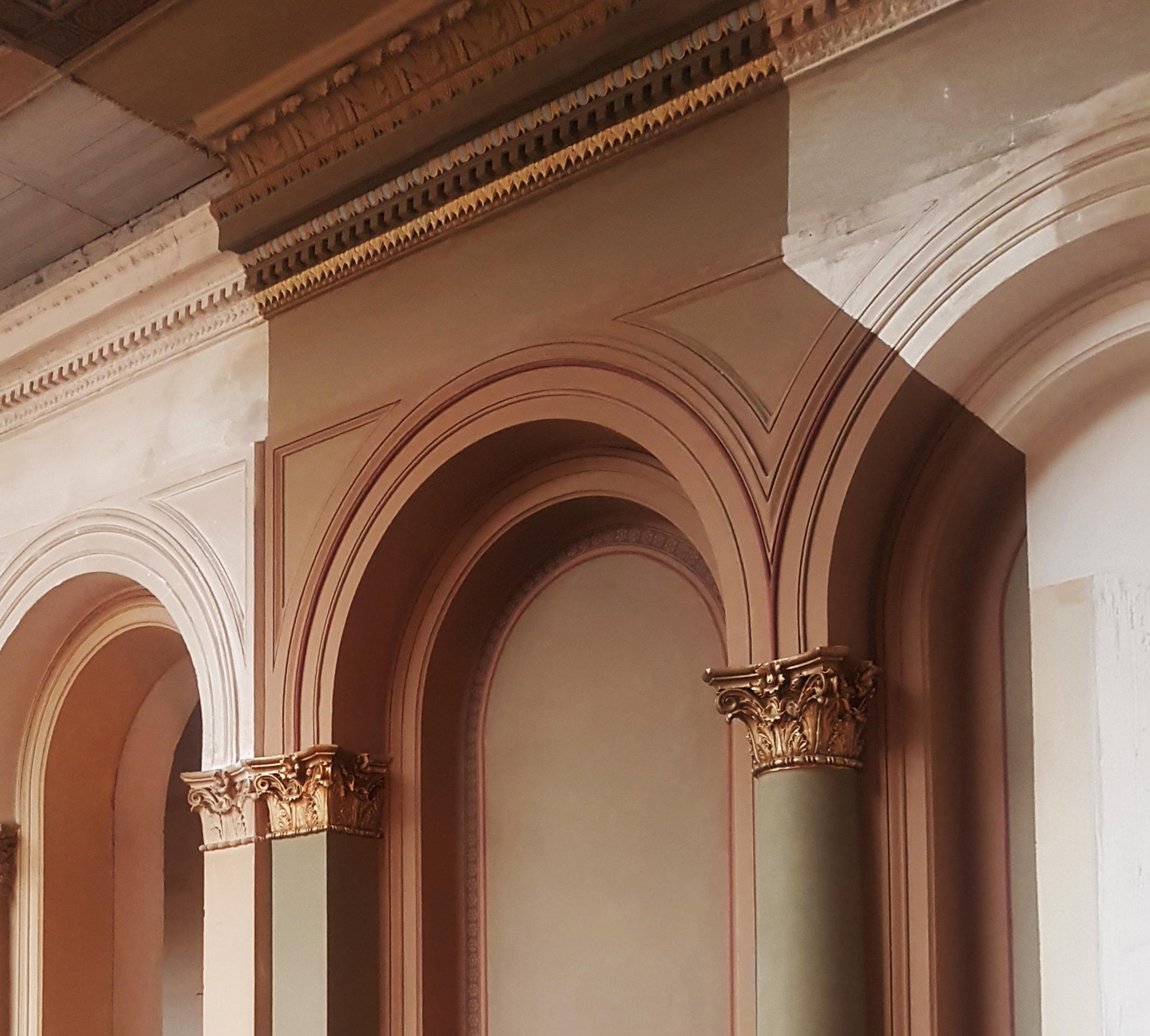 Säulendetails, Robert-Koch-Forum, Berlin
