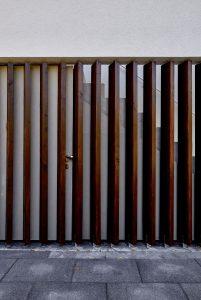 Versteckte Tür, Villa JHS6, Dresden
