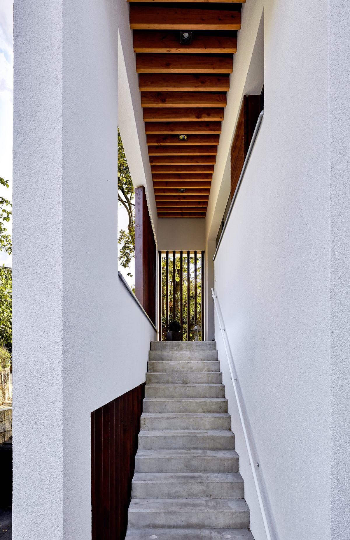 Treppenaufgang, Villa JHS6
