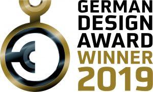 Logo des German Design Award 2019